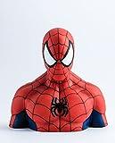 Marvel Deluxe Spardose Spider-Man Büste Bedruckt, Material: PVC, in Geschenkverpackung.