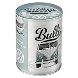 Nostalgic-Art - Volkswagen - VW Bulli T1 - Good Things - Spardose, Geschenke für VW Bus Fans, Sparschwein aus Metall, Vintage Sparbüchse aus Blech